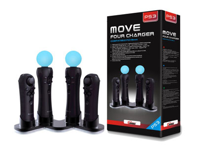 MOVE FOUR CHARGER PS3-2312A