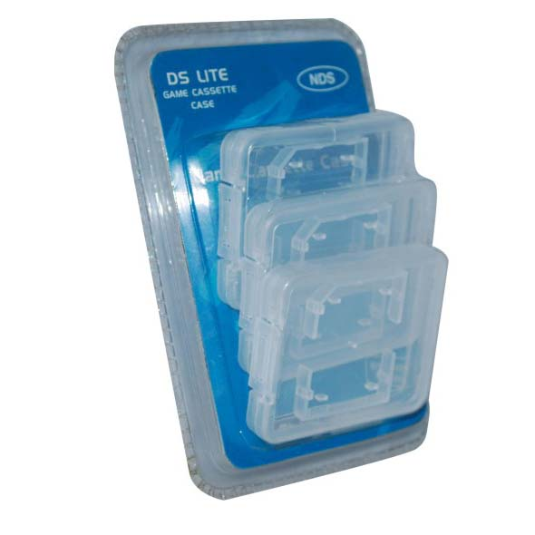 Crstal Case for 3DS can hold 1 pcs SD card NS4138C