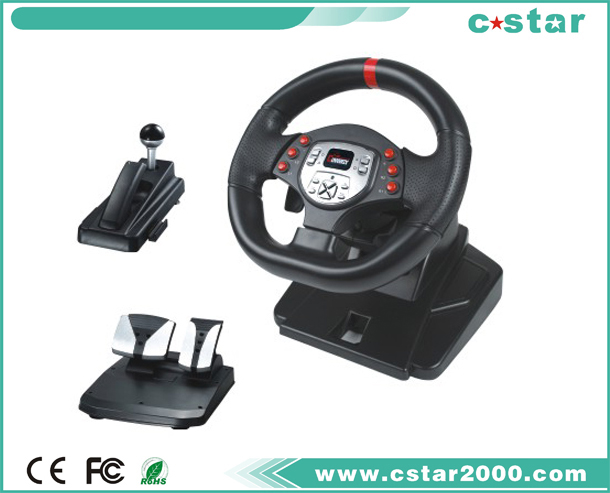 Game Steering Wheel for PS2 PS3 USB NS9818