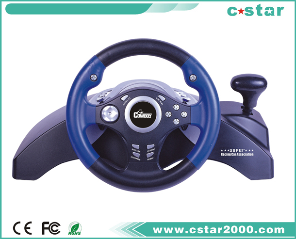 PS2/PS3/USB Steering Wheel NS9806