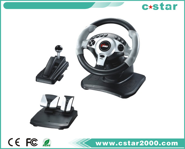 PS2/PS3/USB Steering Wheel NS9807
