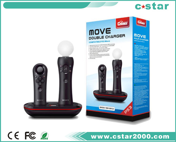 MOVE DOUBLE CHARGER PS3-2310B