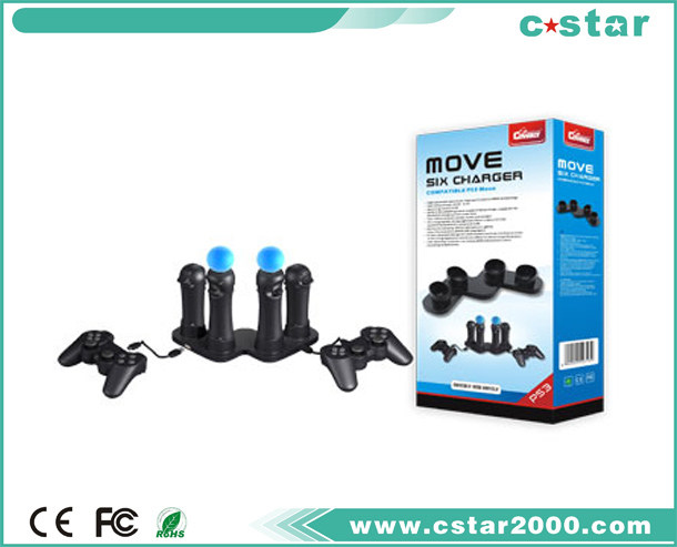 MOVE SIX CHARGER PS3-2313
