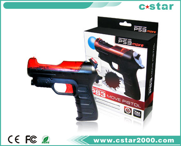 Shooting gun for PS3 move PS3-2401