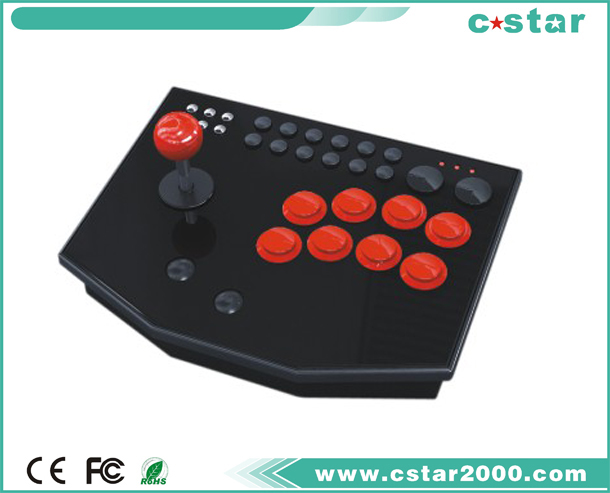 Vibration Joystick for PS2/PS1/PSX Game Console