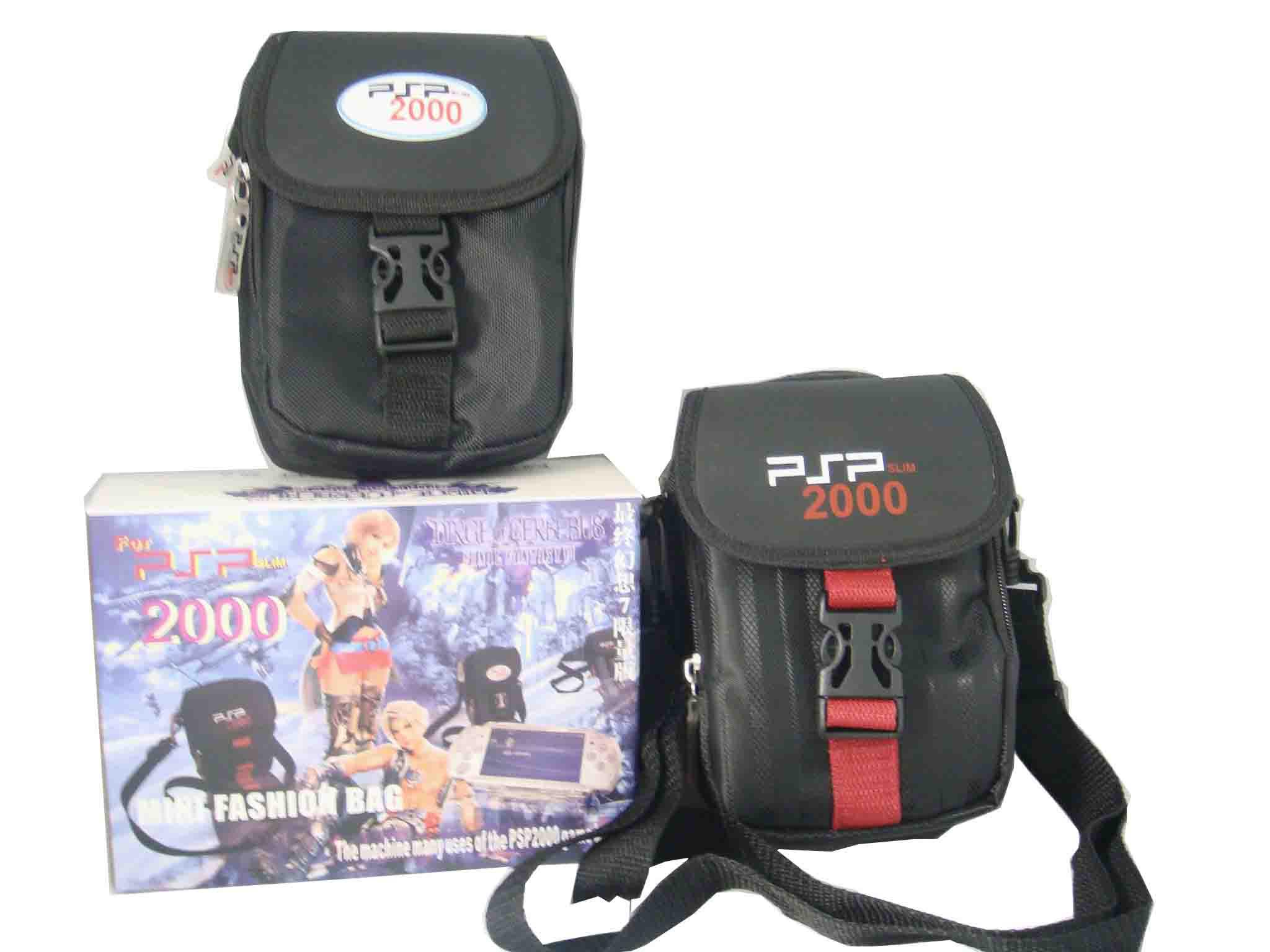 Multi-fuction bag with should strap for PSP2000