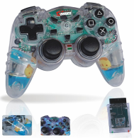 Controller with liquid for PS2