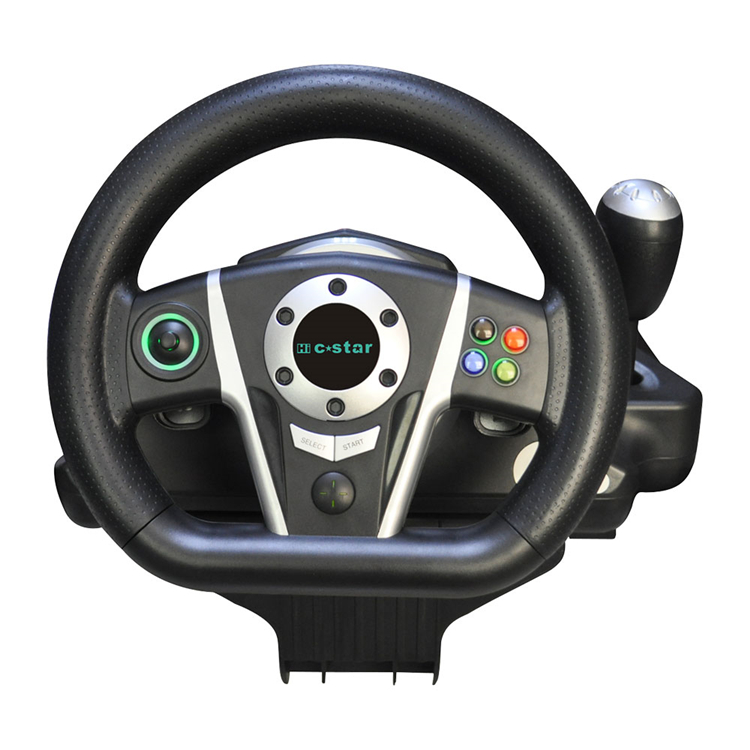 809 PS3 Bluetooth Steering wheel